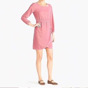 J. Crew Factory Tulip Hem Dress NWT